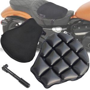 Motorcycle 3D Comfort Gel Seat Cushion Universal Air Motorbike Pillow Pad Cover
