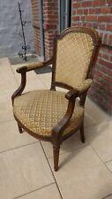 Ancien fauteuil Cabriolet époque Louis XVI. XVIIIème siècle Antique Armchair...B