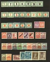 Hungary 1903/29 range of issues to include '20 airs, '29 Palace, postage dStamps