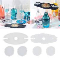 Epoxidharz Formen DIY Untersetzer Silikonform DIY Gießform für DIY