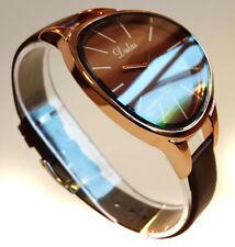CURVED Ladies Women's  Girls Fashion Wrist Watch Rose Gold Christmas Xmas Gift