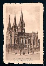Ansichtskarte von der Sankt Elisabetkirche in Lemberg (Lwow) von 1916
