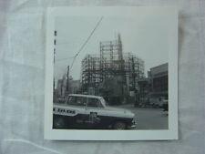 Vintage Car Photo Unusual Ute Pickup 1960s Japan Construction Scafolding 791
