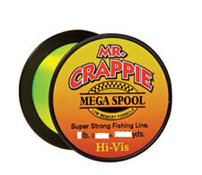Mr. Crappie MC4HV Hi Viz 4lb 2000yds. Monofilament Line NEW