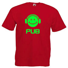 UB DJ Music Adult T Shirt
