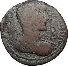 Gallienus Son of Valerian I Tabae, Caria HUGE Ancient Roman Coin Fortuna  i28567