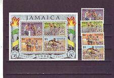 Jamaïque-SG722-MS726 neuf sans charnière 1988 jeux olympiques Seoul