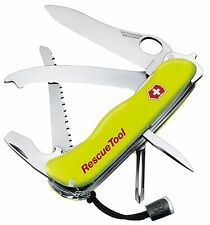NEW VICTORINOX SWISS ARMY KNIFE OF THE YEAR 2007 RESCUE TOOL YELLOW BOXED 53900