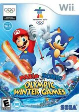 Mario & Sonic at the Olympic Winter Games - Nintendo  Wii Game