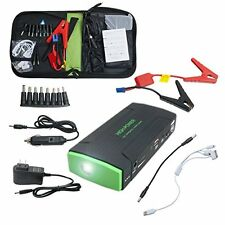 600A Peak Current Portable Jump Starter with 16800mAh Power Bank Emergency Car