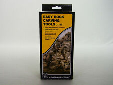 WOODLAND SCENICS EASY ROCK CARVING TOOLS ho o gauge train land scene WDS1185 NEW