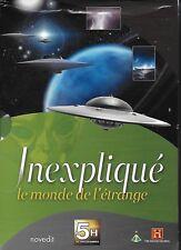 INEXPLIQUÉ Le Monde De L'Étrange NEUF SOUS BLISTER Coffret 5 DVD. OVNI Ufologie