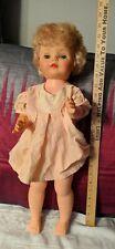 Vintage Uneeda Doll 23 inch Sleepy Blue Eyes 1962