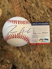 Tim Anderson Autographed Romlb SS Rookie Ball W/Coa Chicago White Sox