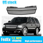For 07-14 Chevy Tahoesuburbanavalanche Mesh Front Bumper Grille Glossy Black