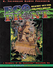 Eco Front-sourcebook for Cyber genertion-rpg-role playing game - (sc) - very rare