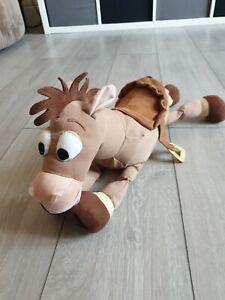 "13"" Disney Store Pixar Toy Story Bullseye Horse Plush Soft Toy Stamped"