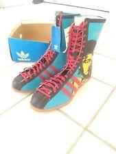 adidas Boxing Shoes Muhammad Ali Andy Warhol Blue Us 9 New Very Rare 🔥🔥🔥