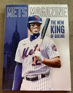 NY METS 2021 OPENING DAY PROGRAM FRANCISCO LINDOR TOM SEAVER MEMORIAL MAGAZINE