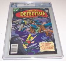 Detective #473 - Graded NM 9.4 - 1977 DC Bronze Age (Rogers art & cover)