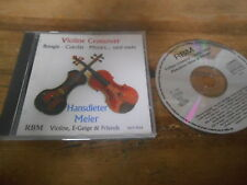 CD Klassik Hansdieter Meier - Violin Crossover (24 Song) RBM MUSIKPROD jc