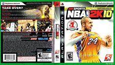 NBA 2K10 Sony Playstation 3 (PS3) 2K Sports