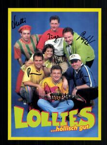 Lolies Autogrammkarte Original Signiert # BC 143439