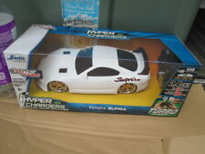 JADA R/C White 1995 Toyota Supra HyperChargers Scale 1:16 Tuner - NEW!