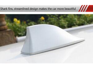 NEW Universal Car Roof Shark Fin Vortex Stereo Radio Aerial Signal Antenna FM/AM