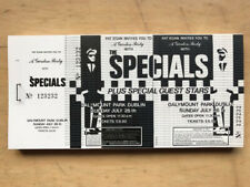 SPECIALS DALYMOUNT PARK - DUBLIN TICKET 26 JULY 1980'S - UNUSED GIG TICKET  2-TO