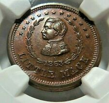 """VERY HIGH GRADE  - """" LITTLE MACK """" PATRIOTIC CWT - 140/394a - NGC MS - 66 - NR"""