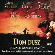 Dom dusz (1993) The House of the Spirits - (DVD) Region 2