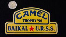 r Adesivo Sticker  CAMEL TROPHY '90  BAIKAL  URSS    mint