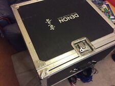 denon flight case, 19 inch , cd and mixer 7 unit , 2 unit