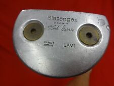 "SLAZENGER Kirk Currie LAM1 Mallet Putter 34"" RH Right Handed New Grip"