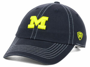 Michigan Wolverines Women's Top of the World NCAA Stitches Adjustable Hat Cap