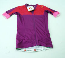 Castelli Aero Race Women's Cycling Short Sleeve Jersey Extra Small Purple Pink