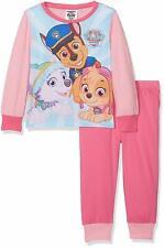Skye Paw Patrol Niñas Pijama Conjunto Manga Larga Rosa BNWT Edad 2-3 Everest Chase