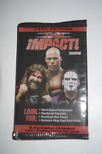 2009 TNA Impact Sealed Trading Card Pack Tri-Star 6 Cards Per Pack!!!!