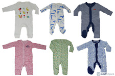 Unisex Boys Girls Mothercare Warm All in one Sleepsuit Babygrow 3-6-9-12-18M NEW