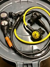 Scubapro Mk11/S360 | R095 Octo | Aqualung i300 w/pressure gauge and compass -set