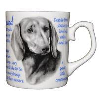 Dachshund - Fine bone china mug - Dog Origins Breed Origins