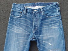 Rugby Ralph Lauren Distressed Denim Jeans Size 32 x 32 RRL Redline Selvedge