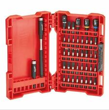 Milwaukee 40 PCE Expand Shockwave Impact Duty Driver Set Magnetic Phillips Hold
