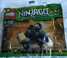 BN Polybag Lego Ninjago 30087 Cole Ninjago car black ninja minifigure poly