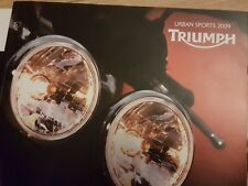 Triumph Motorcycles 2009 Brochure - 16 page + Covers