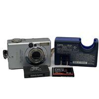 Canon Powershot S500 ELPH 5.0 MB 3x Optical Zoom 9 pt AI Autofocus