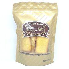 Thai Crispy Butter Baked Bread Tasty Snack Baking Homemade Khun Noi Bakery 175 g