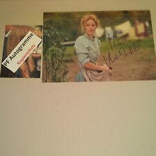 HEIKE MAKATSCH Schauspielerin In-Person signiert signed Photo 20x30 Autogramm