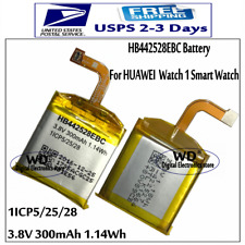 Original HB442528EBC 300mAh Battery For Huawei Watch 1 Smart Watch 1ICP5/25/28